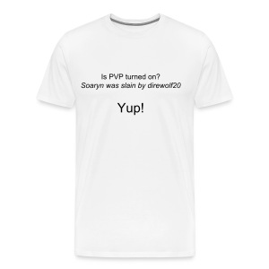 PVP on? Heavyweight - Men's Premium T-Shirt