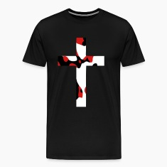 Abstract Cross T-Shirts