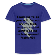 Kids' Shirts ~ Kids' Premium T-Shirt ~ Teach Me God