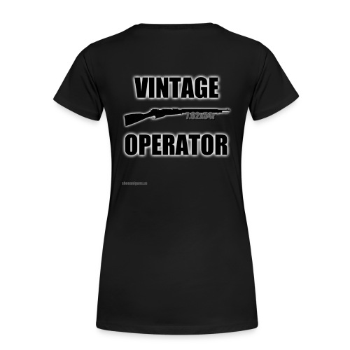 Women's Vintage Operator - Women's Premium T-Shirt