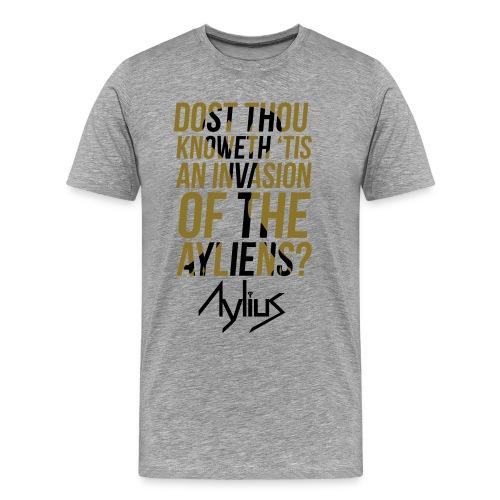 Men's Dost Thou Tee (Gold/Black) - Men's Premium T-Shirt