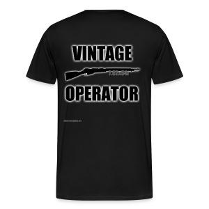 Men's Vintage Operator - Men's Premium T-Shirt