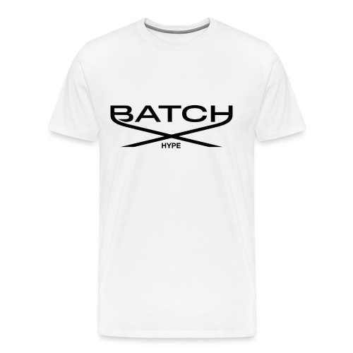 Batch Hype White - Men's Premium T-Shirt
