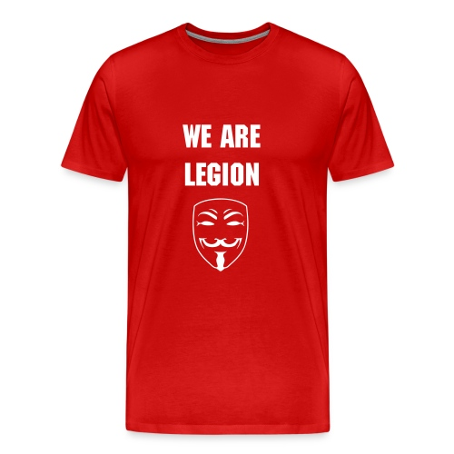 Oldstyle We Are Legion t-shirt - Men's Premium T-Shirt