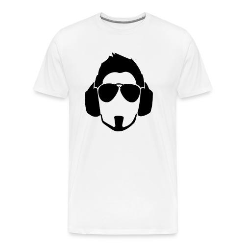 Black Head Logo - Men's Premium T-Shirt