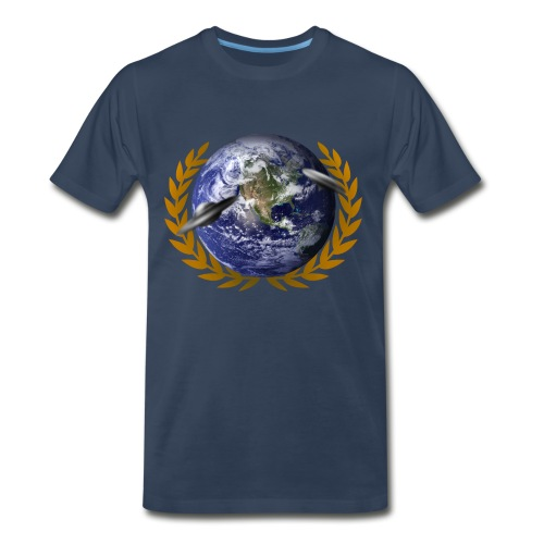 World UFO Day T-shirt - Men's Premium T-Shirt
