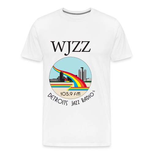 ON SALE!  WJZZ logo - Peter White 3XL & 4XL - Men's Premium T-Shirt