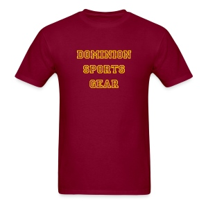 DSG - Burgundy - Men's T-Shirt