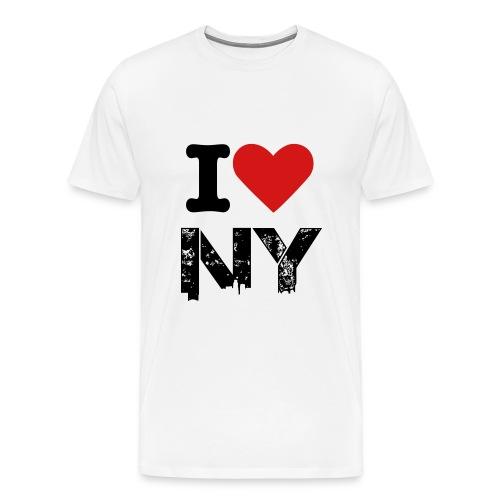 I Love NY - Men's Premium T-Shirt
