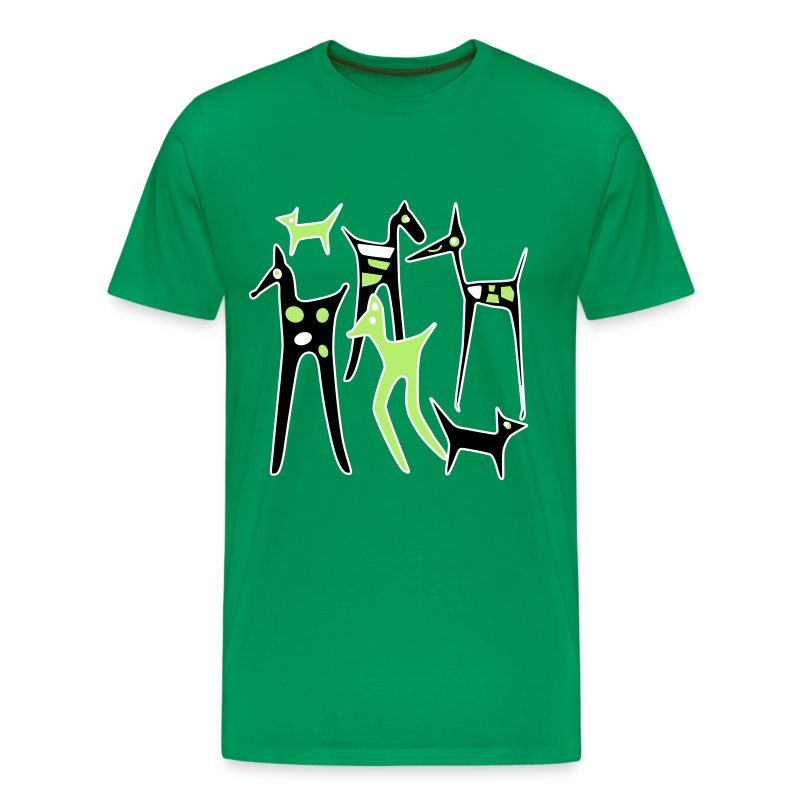 stylized_animalsl_1 - Men's Premium T-Shirt