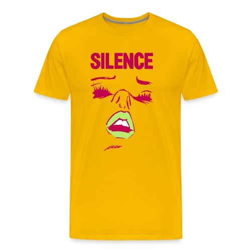 silence alternate - Men's Premium T-Shirt