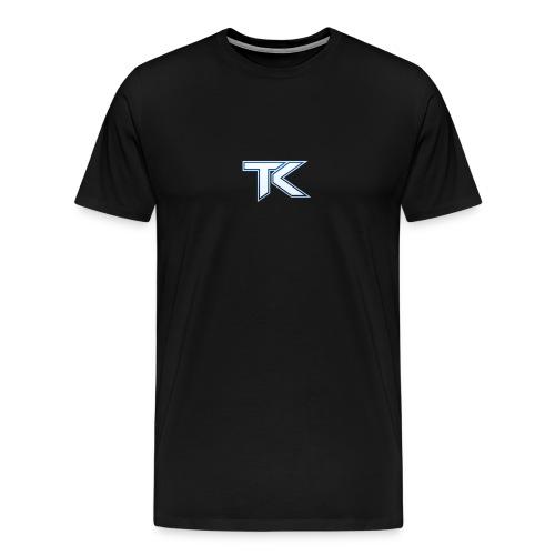 tK TeamKaliber Small Logo T-Shirt - Men's Premium T-Shirt