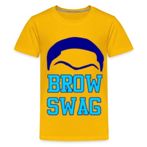 #BrowSwag - Kids' Premium T-Shirt