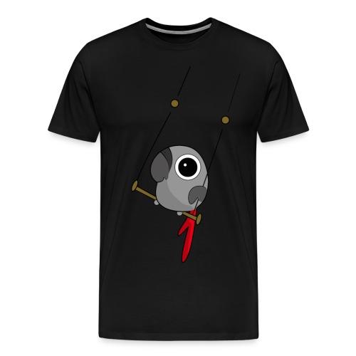Parrot Shirt Black - Men's Premium T-Shirt