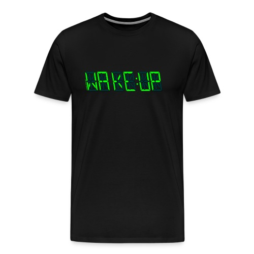 Wake:up T-shirt - Men's Premium T-Shirt