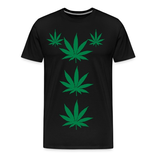Cannabis Leaves - Men's Premium T-Shirt