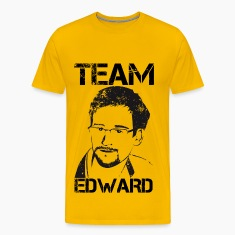 Edward Snowden: Team Edward T-Shirts