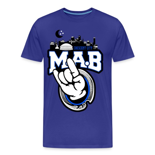 CC Mab Blue 3XL-4XL - Men's Premium T-Shirt
