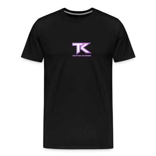 tK Editing Division Logo T-Shirt - Men's Premium T-Shirt