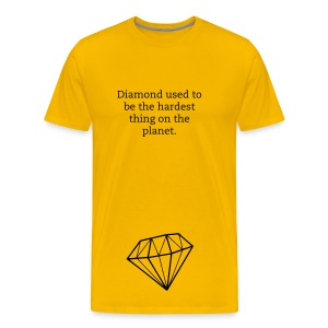 Harder than diamond - Men's Premium T-Shirt