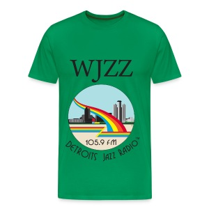 ON SALE!  WJZZ logo - Grant Sage Green - Men's Premium T-Shirt