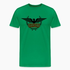 Laurel wreath eagle Aquila SPQR Rome Shirt