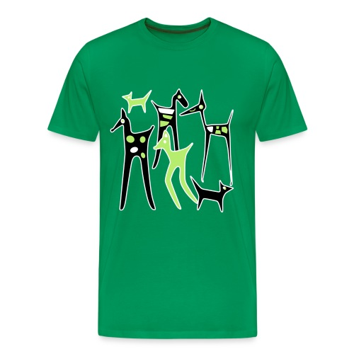 stylized animals - Men's Premium T-Shirt