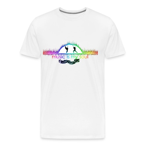 Art Vision Music - Men's Premium T-Shirt