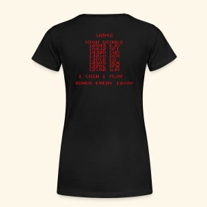 Scoretable1 (back- and frontprint) - Women's Premium T-Shirt