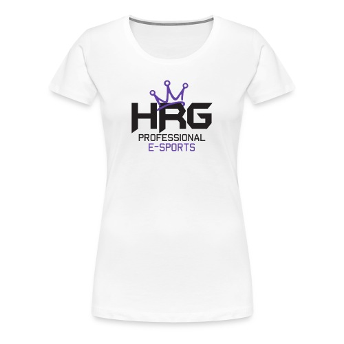 HRG Purps White Tee - Women's Premium T-Shirt