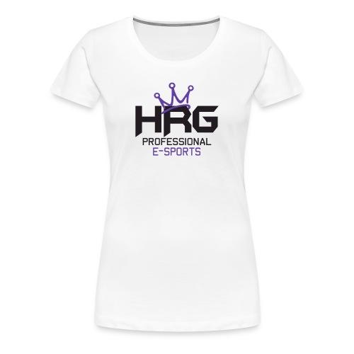 HRG Purps White Tee - Women's Premium T-Shirt