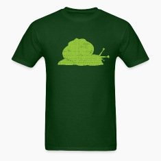 Cute Green Snail T-Shirts