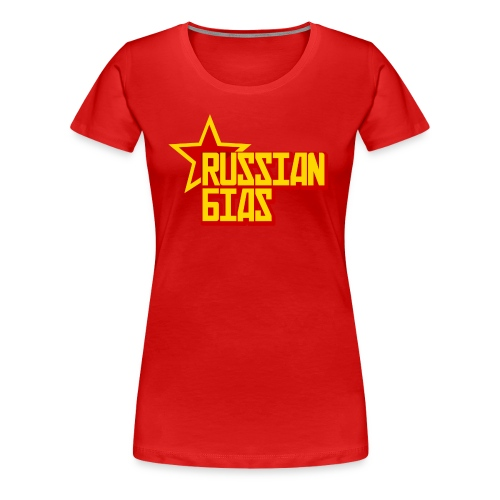 Russian Bias (Women) - Women's Premium T-Shirt