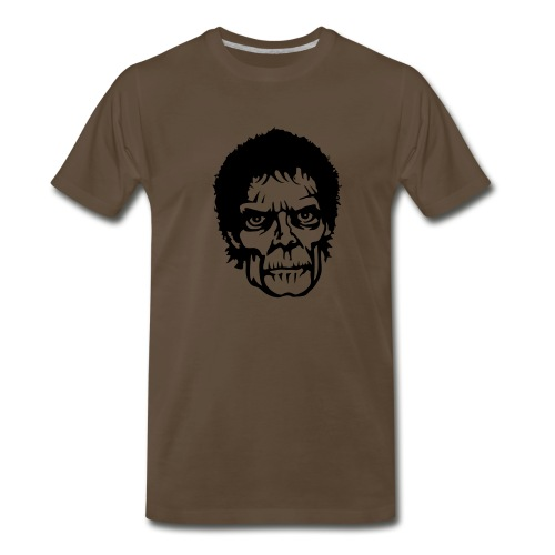 Cool Zombie Face - Men's Premium T-Shirt