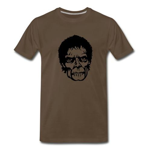 Cool Zombie Face - Men's Premium T-Shirt