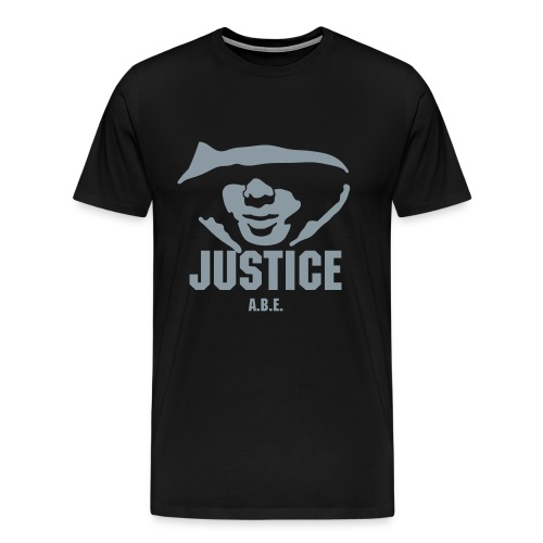 JUSTICE T-SHIRT MENS 3X/4X - Men's Premium T-Shirt