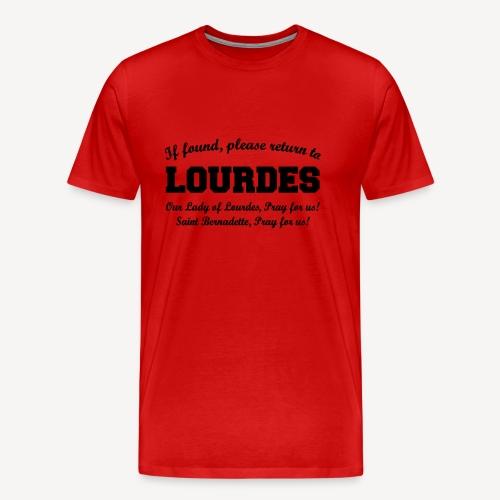 RETURN TO LOURDES  - Men's Premium T-Shirt