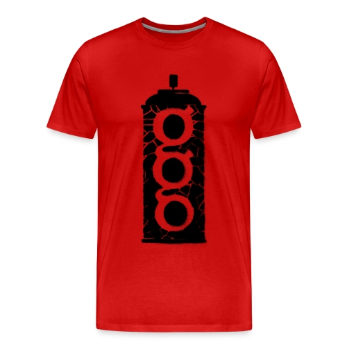 Men's Premium T-Shirt - stencil,graffiti,gospel,can