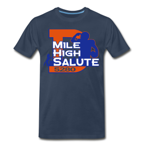 Mile High Salute - 3XL 4XL Mens - Men's Premium T-Shirt