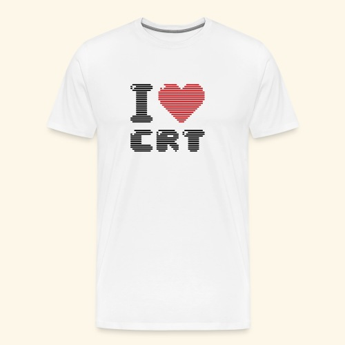 I ♥ CRT - Men's Premium T-Shirt