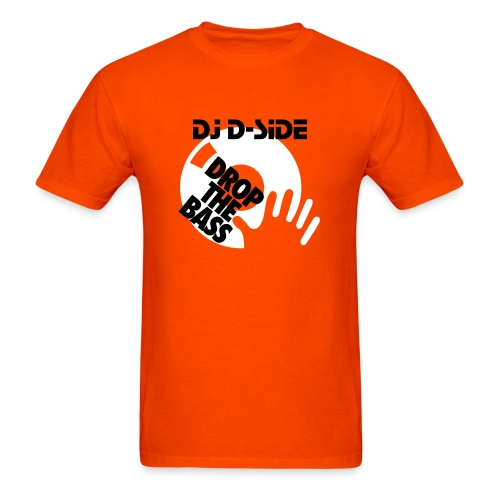 Dj D-Side DROP THE BASS - Men's T-Shirt