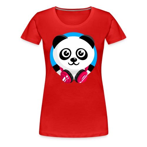 Panda Mix Show T-Shirt (Blue Sky) - Women's Premium T-Shirt