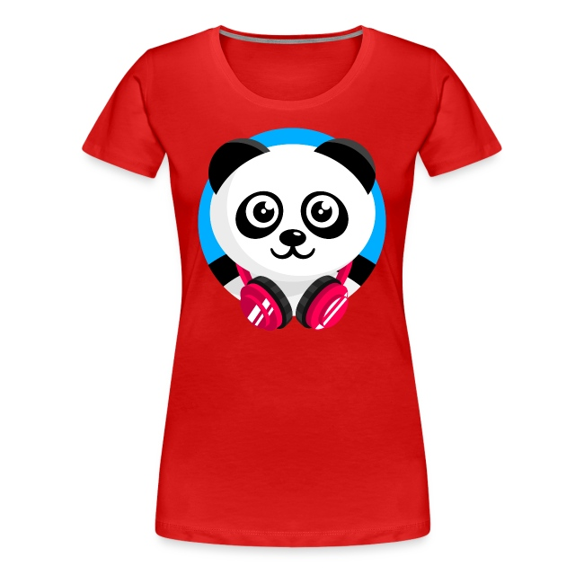 Panda Mix Show T-Shirt (Blue Sky)