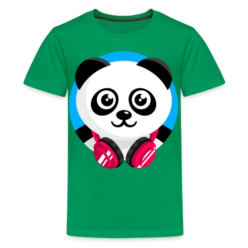 Panda Mix Show T-Shirt (Blue Sky) - Kids' Premium T-Shirt