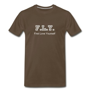 F.L.Y. - First Love Yourself - Men's Premium T-Shirt