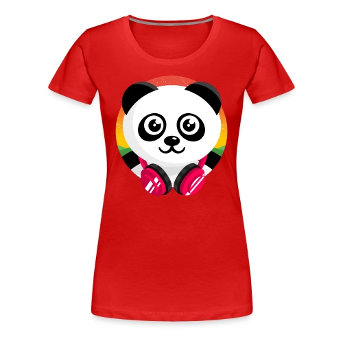 Panda Mix Show T-Shirt (Sunrise) - Women's Premium T-Shirt
