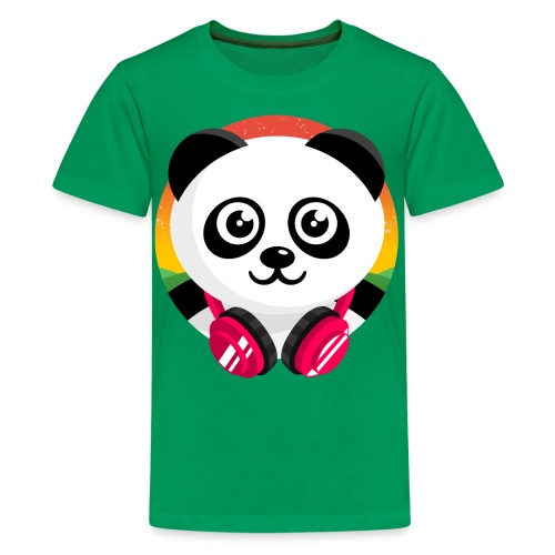 Panda Mix Show T-Shirt (Sunrise) - Kids' Premium T-Shirt