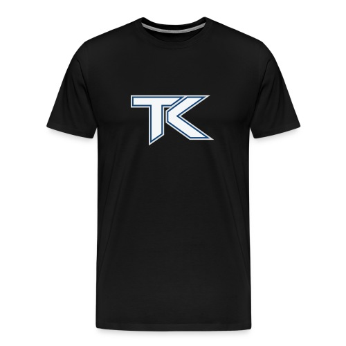 tK Large Icon Logo T-Shirt - Men's Premium T-Shirt