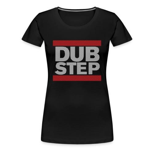 Run Dubstep T-Shirt (Striped) - Women's Premium T-Shirt
