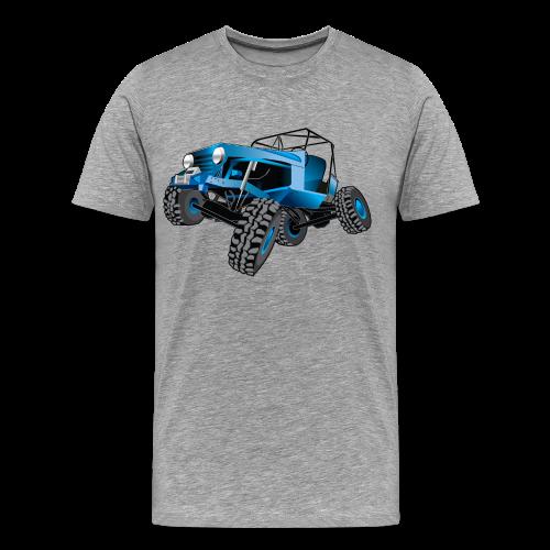 blue jeep shirt - Men's Premium T-Shirt